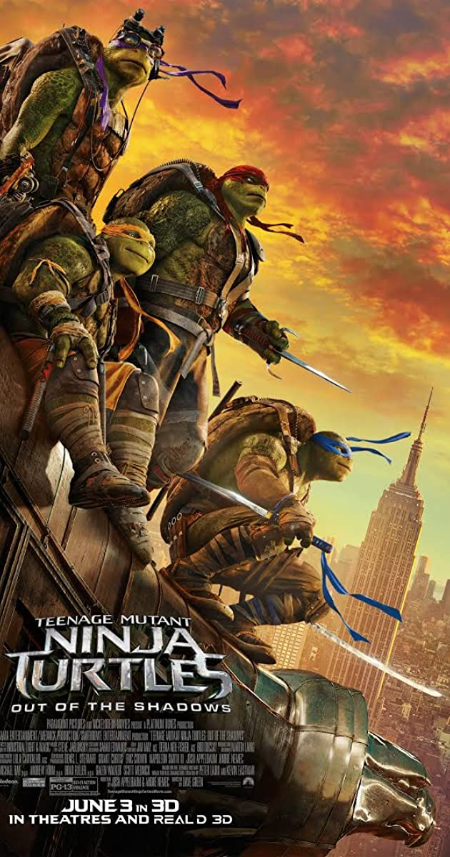 Teenage Mutant Ninja Turtles: Out of the Shadows (2016) - IMDb