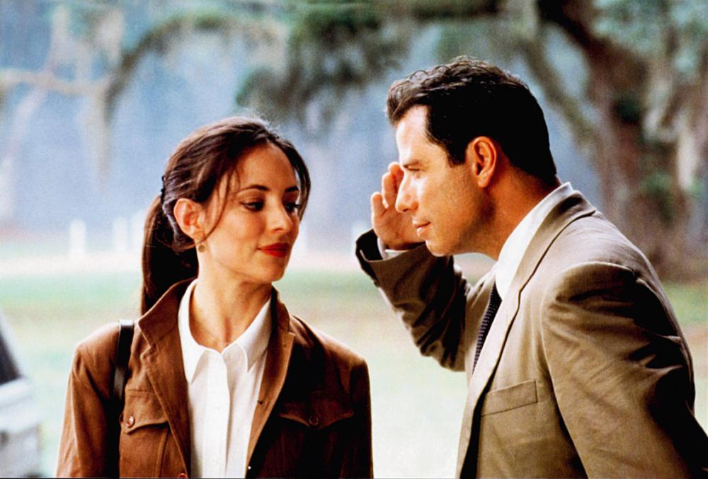John Travolta and Madeleine Stowe in The General's Daughter (1999)