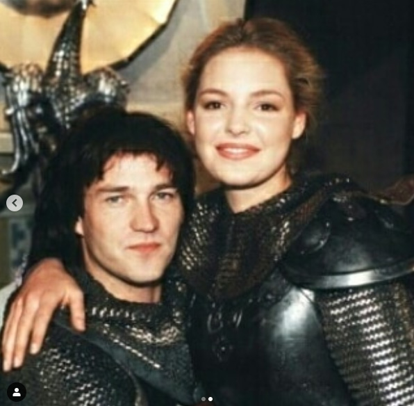 Katherine Heigl and Stephen Moyer in Prince Valiant (1997)