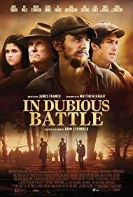 Robert Duvall, James Franco, Selena Gomez, and Nat Wolff in In Dubious Battle (2016)