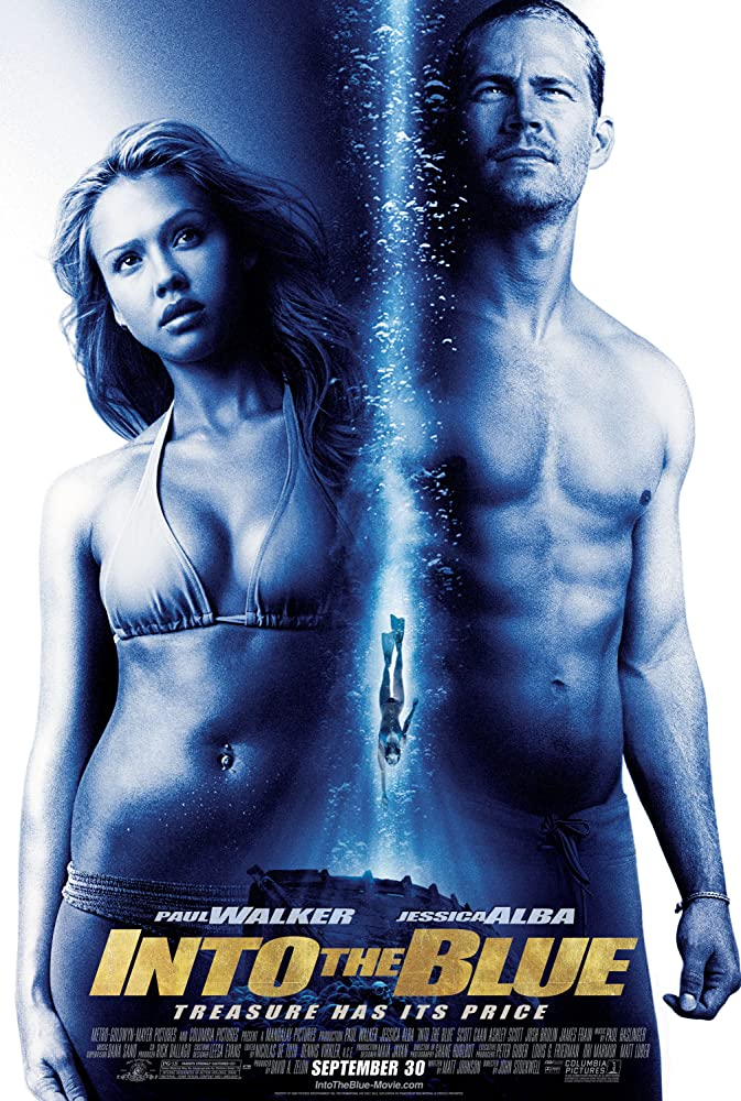 Jessica Alba and Paul Walker in Into the Blue (2005)