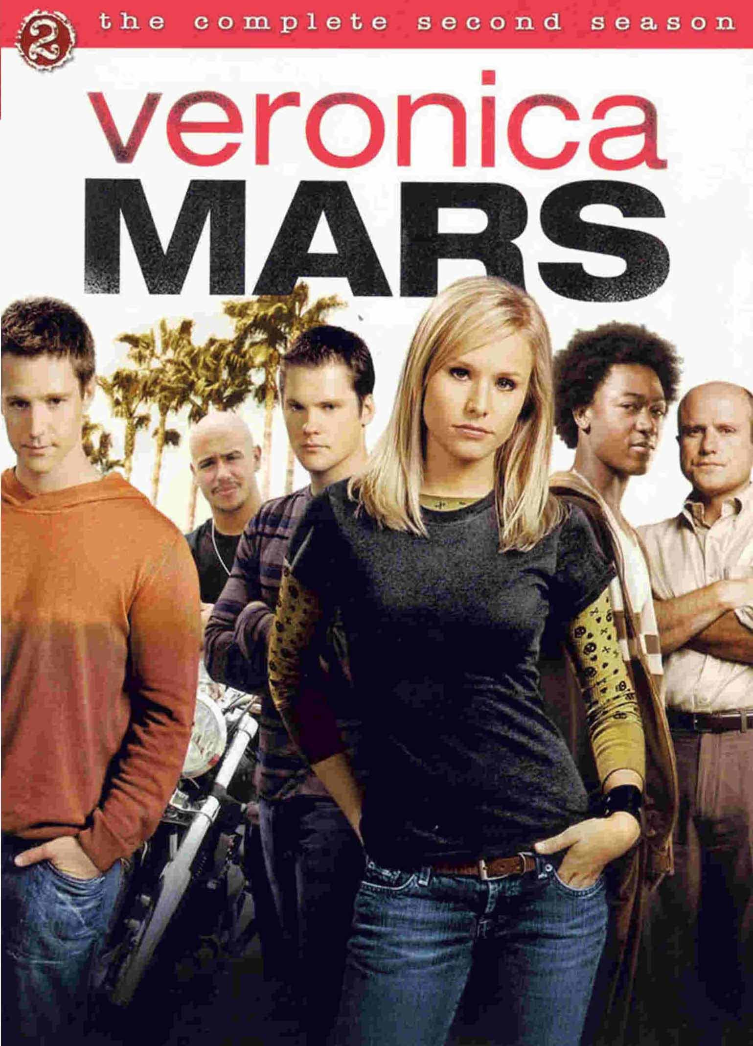 Kristen Bell, Francis Capra, Enrico Colantoni, Jason Dohring, Percy Daggs III, and Teddy Dunn in Veronica Mars (2004)
