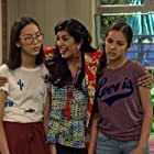 Rachna Khatau, Madison Hu, and Olivia Rodrigo in Bizaardvark (2016)