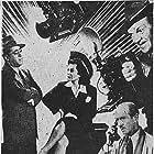 Davison Clark, Robert Homans, Frank Jenks, Robin Raymond, Ray Walker, and H.B. Warner in Rogues Gallery (1944)