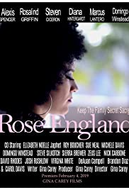 Rose England Poster