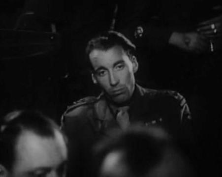 Christopher Lee in They Were Not Divided (1950)