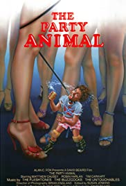 The Party Animal(1984) Poster - Movie Forum, Cast, Reviews