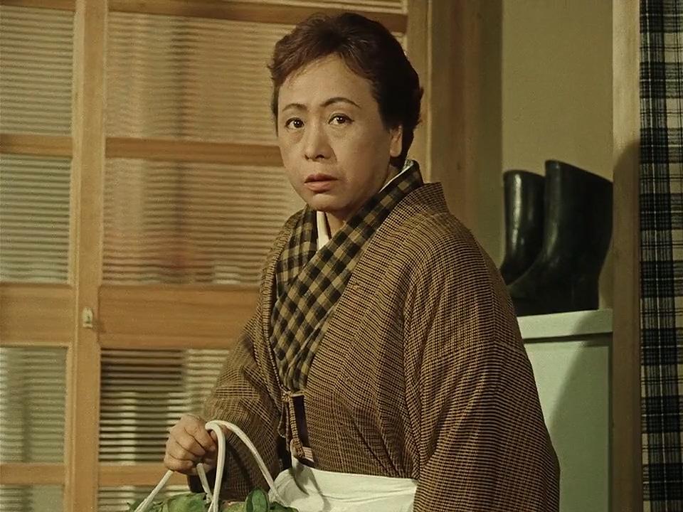 Teruko Nagaoka in Ohayô (1959)