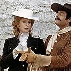 Marcello Mastroianni and Catherine Deneuve in Touche pas à la femme blanche (1974)