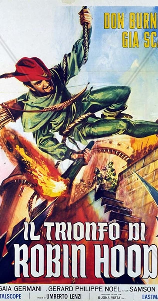 The Robin Hood In Internet Italian Movies