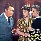 Edith Evanson, Janet Warren, and Sidney Toler in The Jade Mask (1945)