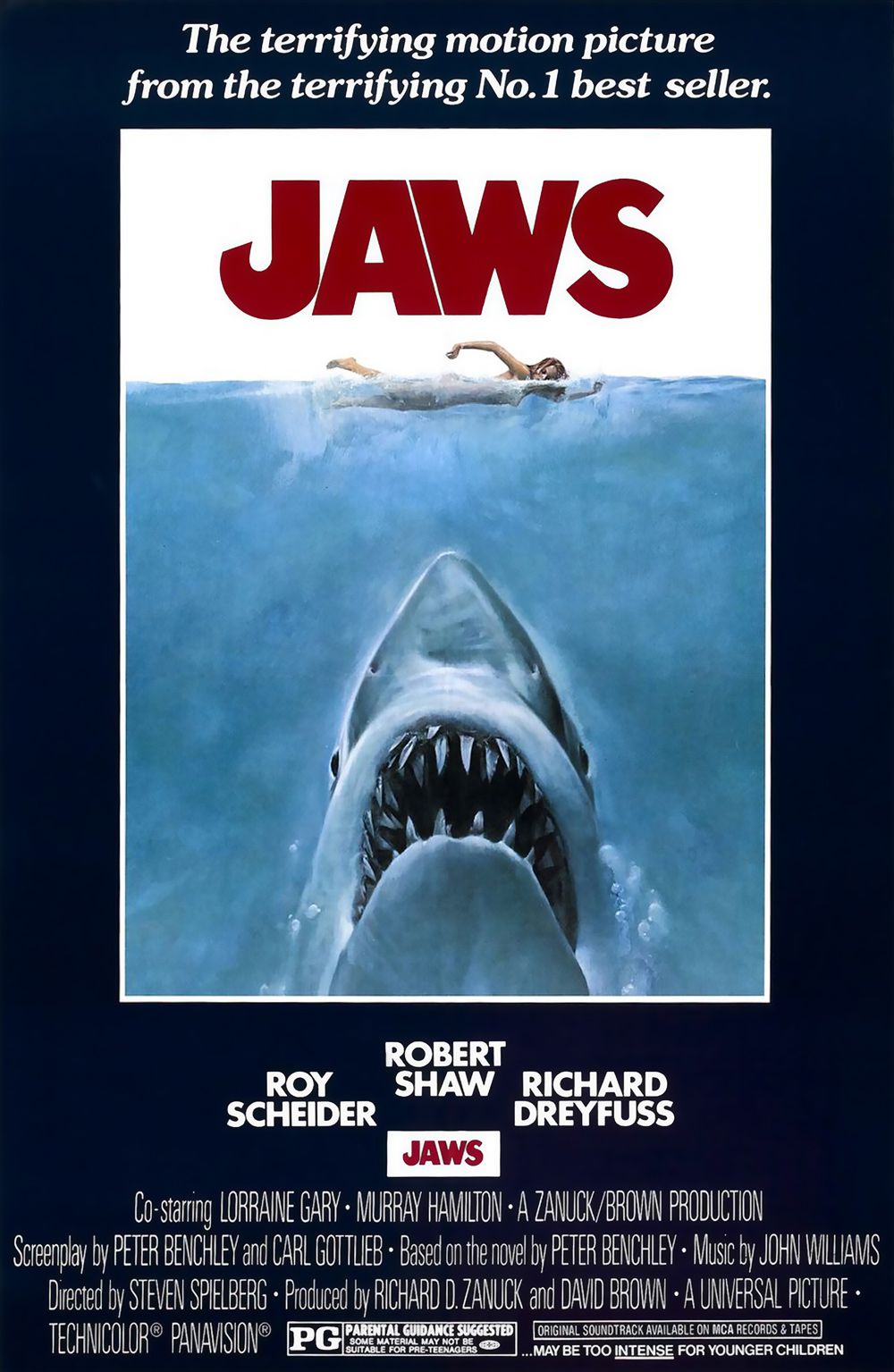 Jaws (1975) BluRay 720p & 1080p