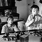 Tomás Holý and Oldrich Kaiser in Setkání v cervenci (1978)