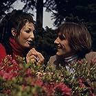 Gérard Depardieu and Martine Redon in Rendez-vous à Badenberg (1970)