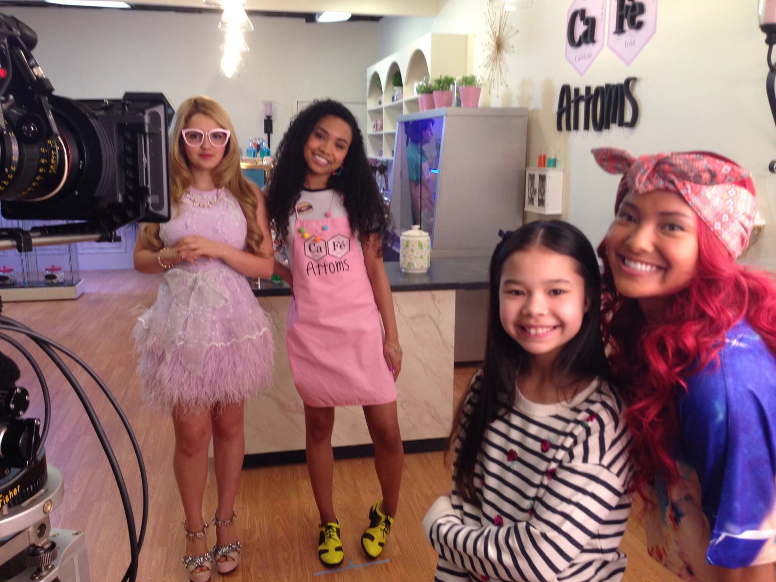 On Set with the Ladies of Project MC2