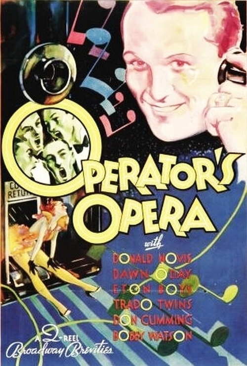 Donald Novis and Eton Boys in The Operator's Opera (1933)