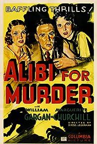 Primary photo for Alibi for Murder