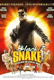 Edouard Baer, Karole Rocher, Michel Gohou, and Thomas Ngijol in Black Snake: La légende du serpent noir (2019)