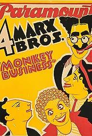 Chico Marx, Harpo Marx, Zeppo Marx, and The Marx Brothers in Monkey Business (1931)