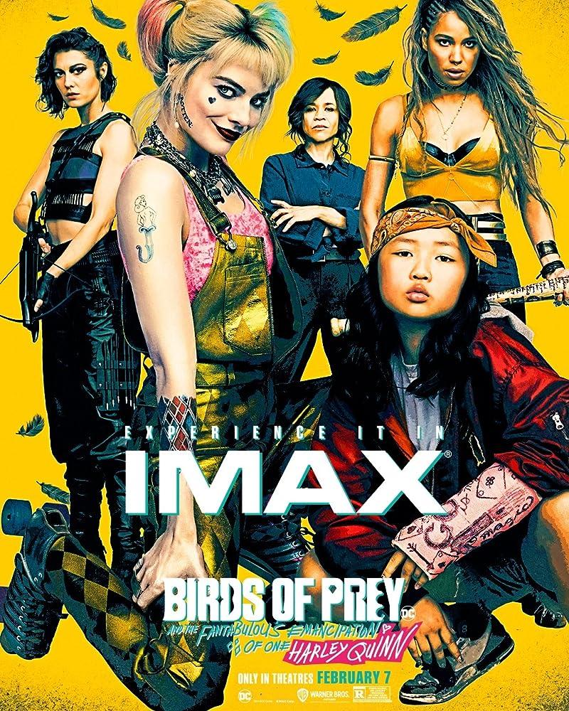 Rosie Perez, Jurnee Smollett, Mary Elizabeth Winstead, Margot Robbie,and Ella Jay Basco in Birds of Prey: And the Fantabulous Emancipation of OneHarley Quinn (2020)