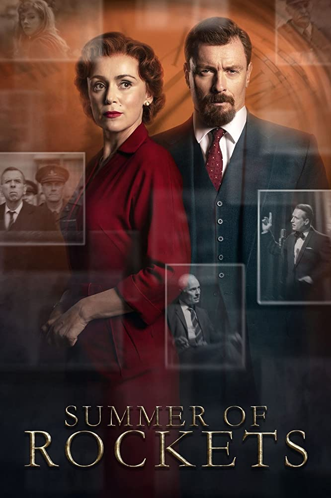 Keeley Hawes and Toby Stephens in Summer of Rockets (2019)