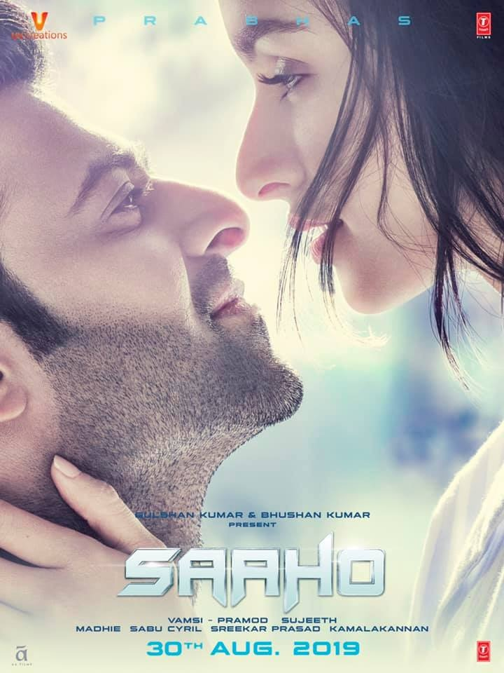 Saaho 2019 Hindi Movie 720p DVDScr 1.1GB Download