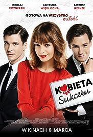 Kobieta sukcesu Poster
