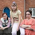 Lisa Riley, Ria Zmitrowicz, and Liv Hill in Three Girls (2017)