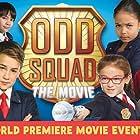 Jack McBrayer, Dalila Bela, Millie Davis, Filip Geljo, Isaac Kragten, and Anna Cathcart in Odd Squad: The Movie (2016)