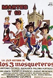 The Crazy Story of the Three Musketeers Poster