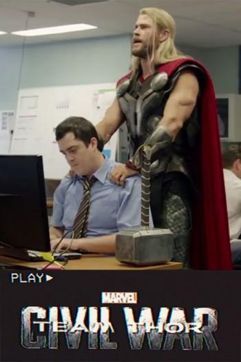 دانلود زیرنویس فارسی فیلم Team Thor