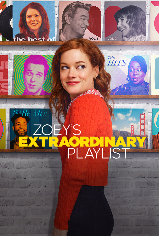 Peter Gallagher, Mary Steenburgen, Lauren Graham, Skylar Astin, Jane Levy, and Alex Newell in Zoey's Extraordinary Playlist (2020)