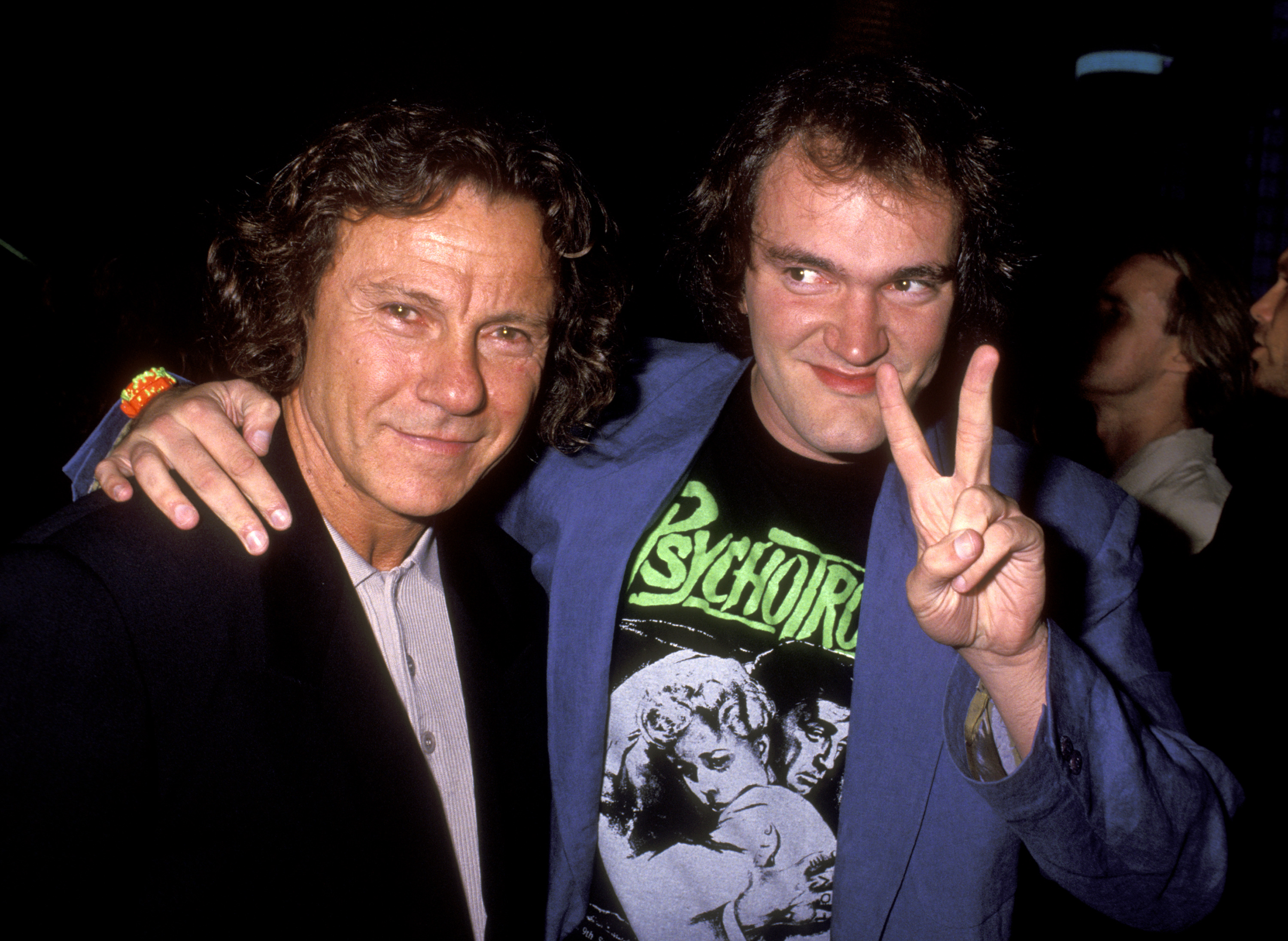 Harvey Keitel and Quentin Tarantino at an event for Reservoir Dogs (1992)