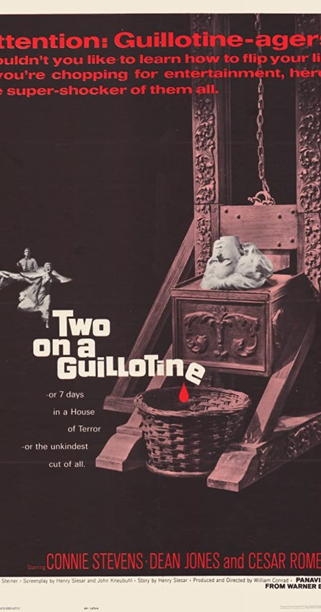 Two On A Guillotine 1965 Two On A Guillotine 1965 User Reviews Imdb