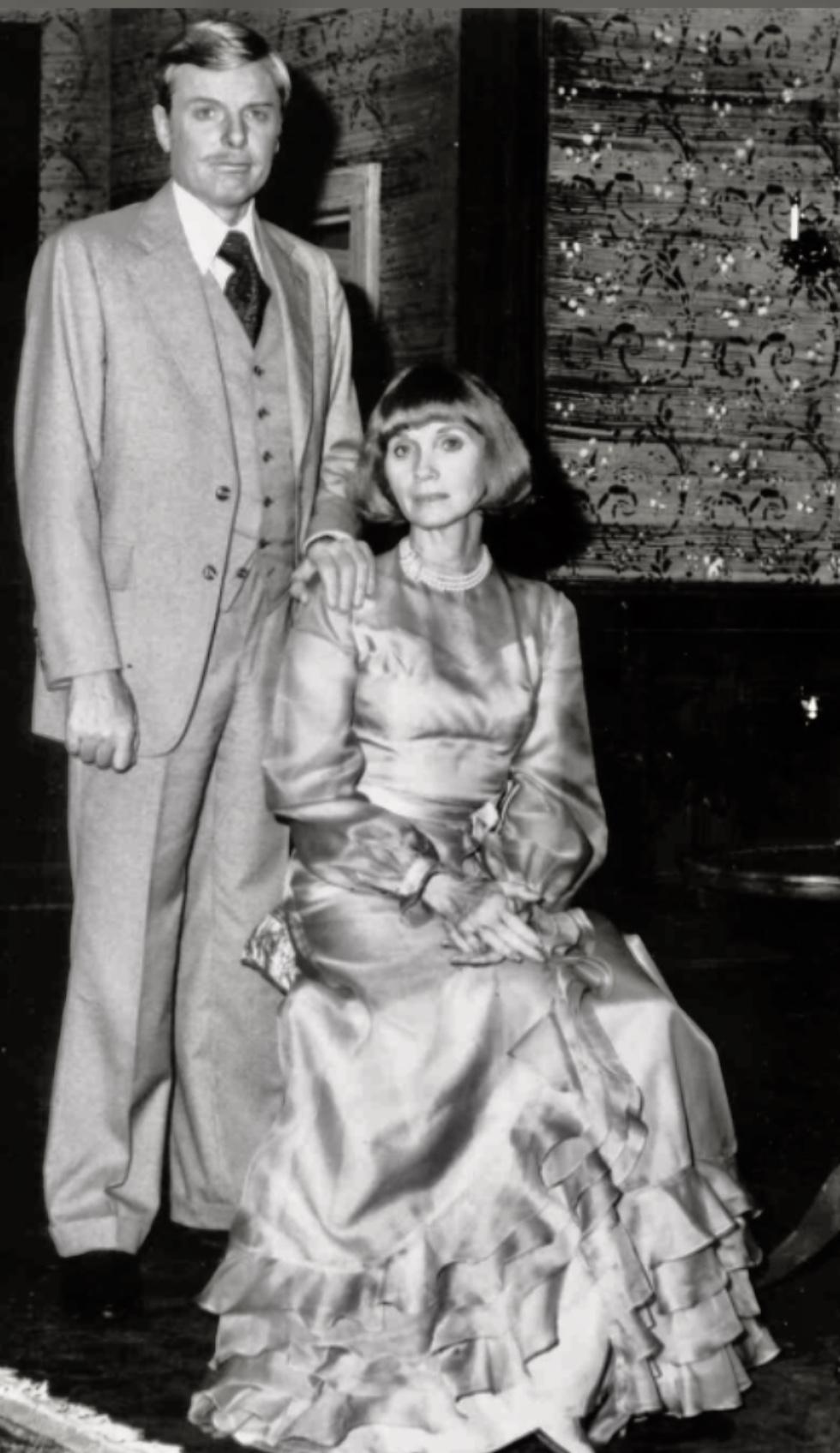 Eva Marie Saint and John McMartin in The Fatal Weakness (1976)