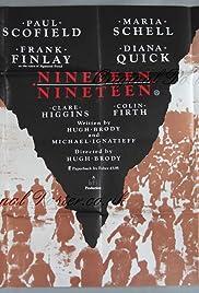 Nineteen Nineteen(1985) Poster - Movie Forum, Cast, Reviews
