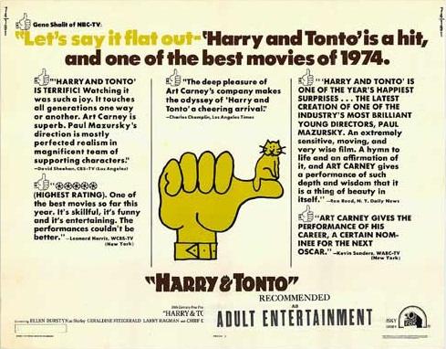 Harry and Tonto (1974) - Photo Gallery - IMDb