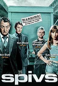 Kate Ashfield, Dominic Monaghan, Nick Moran, and Ken Stott in Spivs (2004)