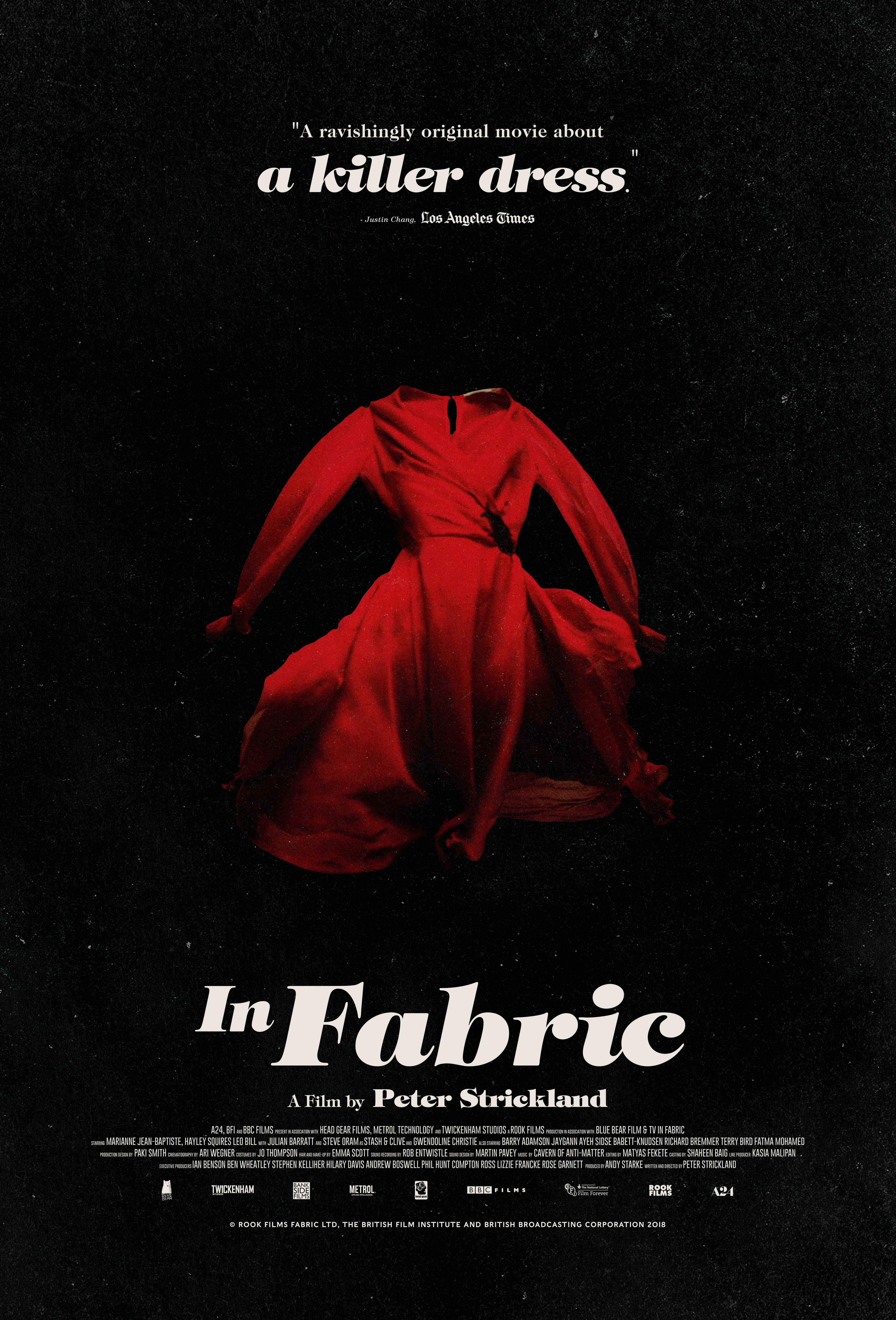Raudona suknelė (2018) / In Fabric (2018)