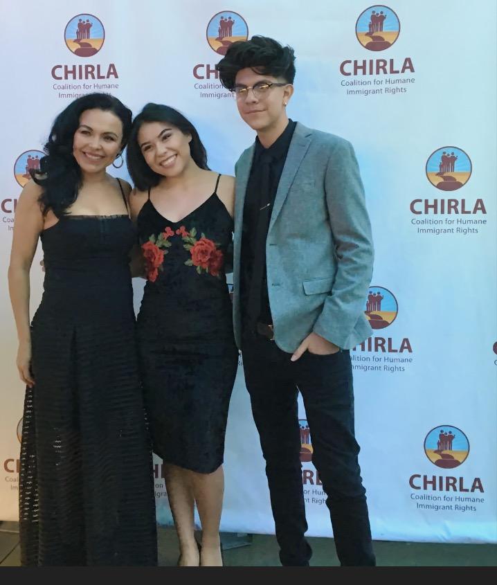 Jose Diaz, Sandra Santiago, and Jailene Arias at an event for America; I Too (2017)