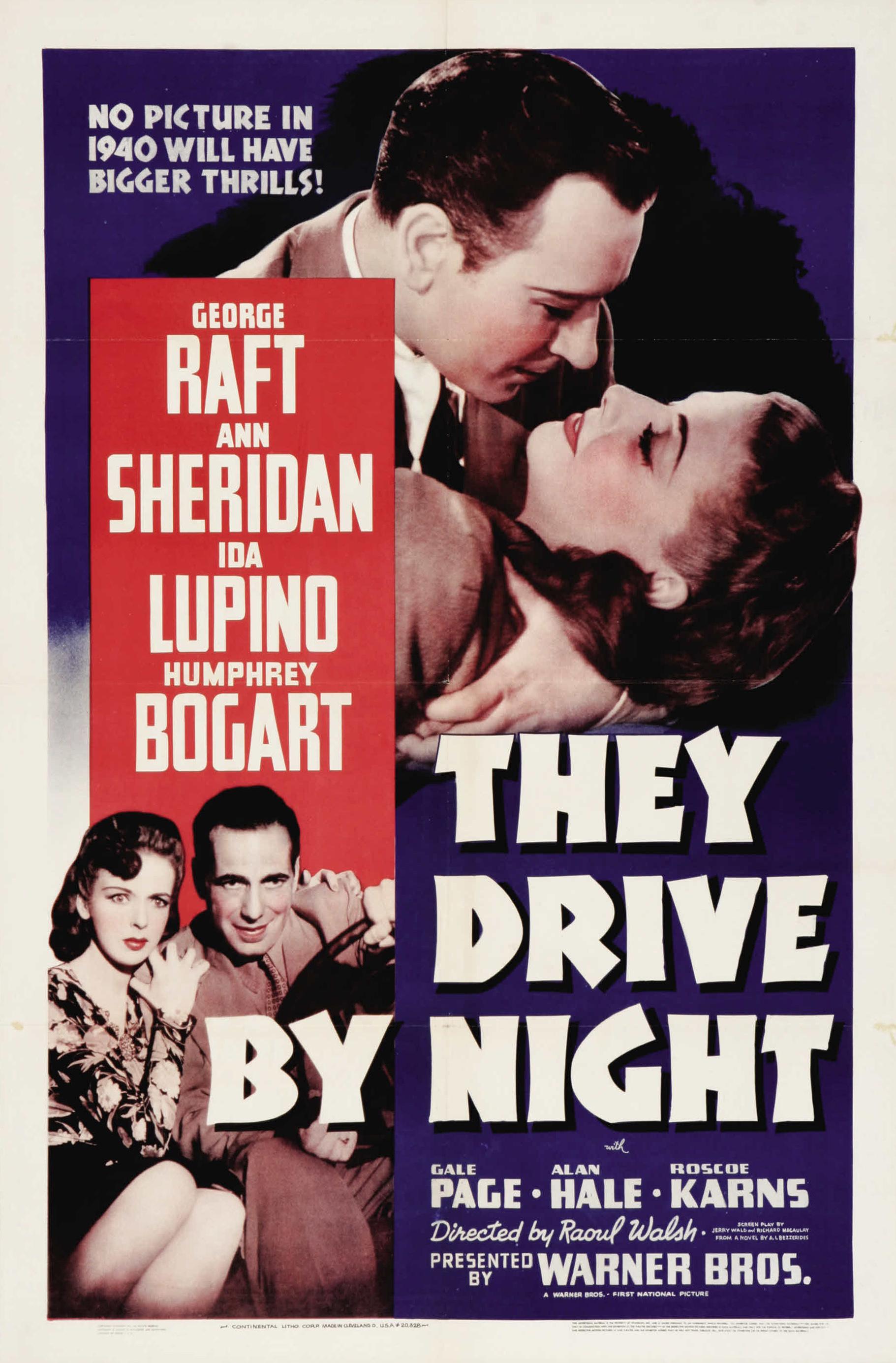 They Drive by Night (1940) - IMDb
