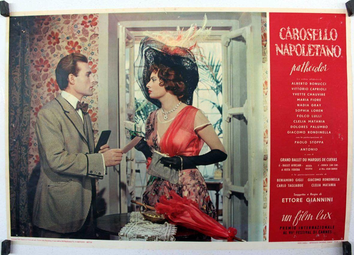 Sophia Loren in Carosello napoletano (1954)