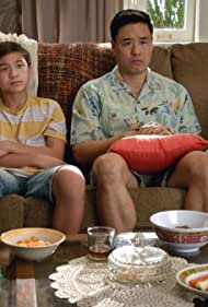 Randall Park, Forrest Wheeler, Ian Chen, and Hudson Yang in Fresh Off the Boat (2015)