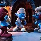 Jack Angel, Fred Armisen, George Lopez, Anton Yelchin, and Melissa Sturm in The Smurfs: A Christmas Carol (2011)