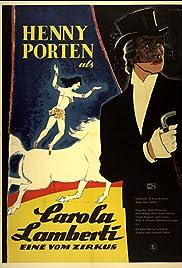 Carola Lamberti - Eine vom Zirkus Poster