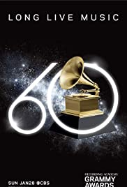 The 60th Annual Grammy Awards Poster