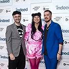 Keith Calder, Jess Wu Calder, and Rafael Casal at an event for Blindspotting (2021)
