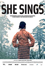 She Sings Poster