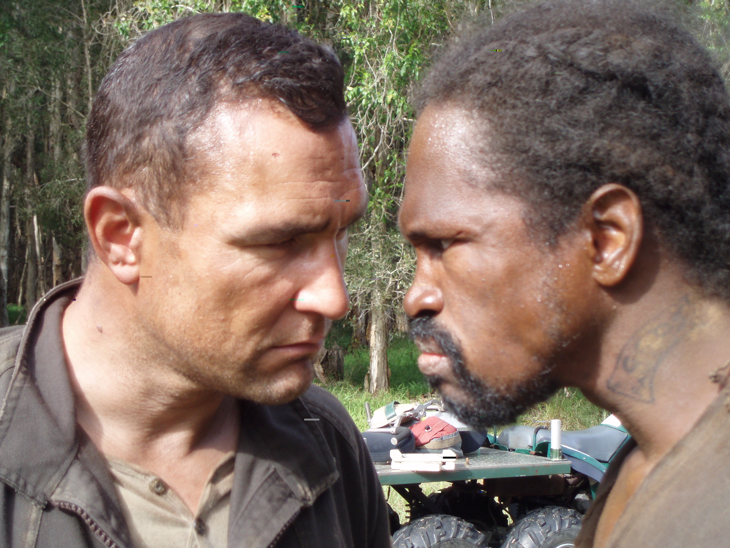 """Vinnie and Marcus squar off """"The Condemned"""""""