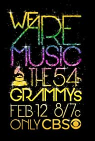 The 54th Annual Grammy Awards (2012) Poster - Movie Forum, Cast, Reviews
